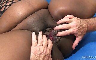 Black BBW Daphne Daniels Licked n Dicked