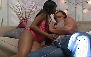 Black doll suits this man's huge cock with endless passion