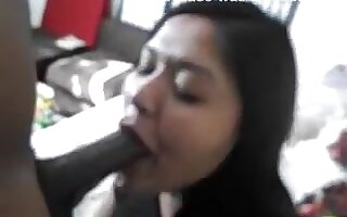 big beautiful woman oriental gives hawt sloppy BBC orall-service