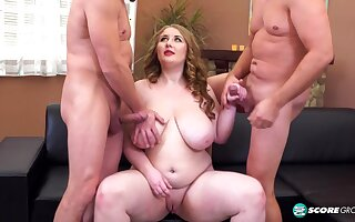 A Three-way Ass Sex Party For Tessa Orlov