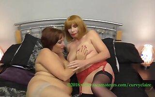 Claire's Lesbo Massage With Barby Slut Pt2 - TacAmateurs