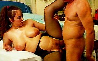pierced curvy milf first anal