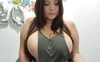 Fabulous Zoological Tits babe hardcore masturbating at bottom cam