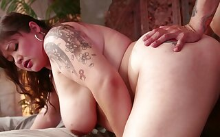 Man's cock suits this heavy Asian wholesale with great anal sex